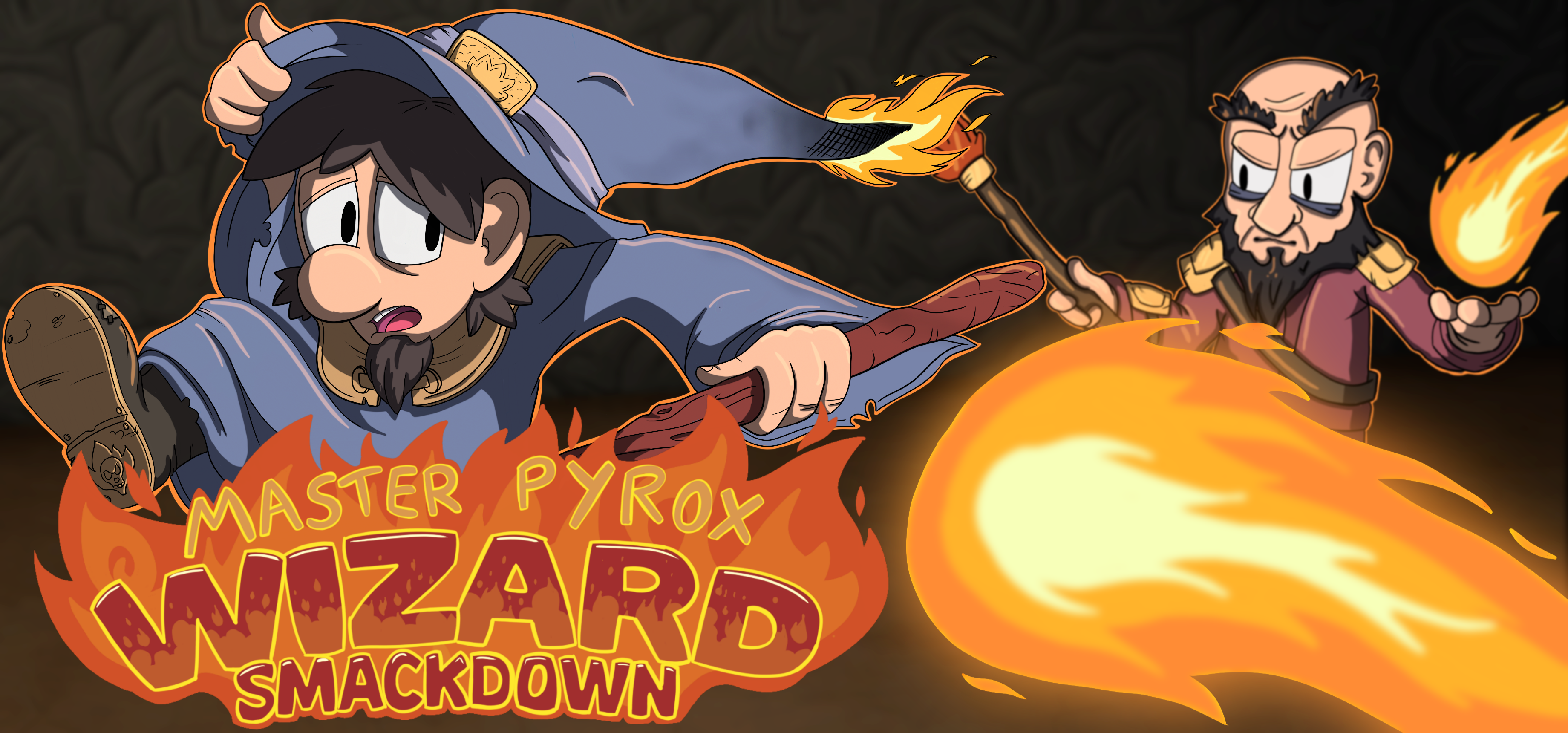Master Pyrox Wizard Smackdown now on Steam